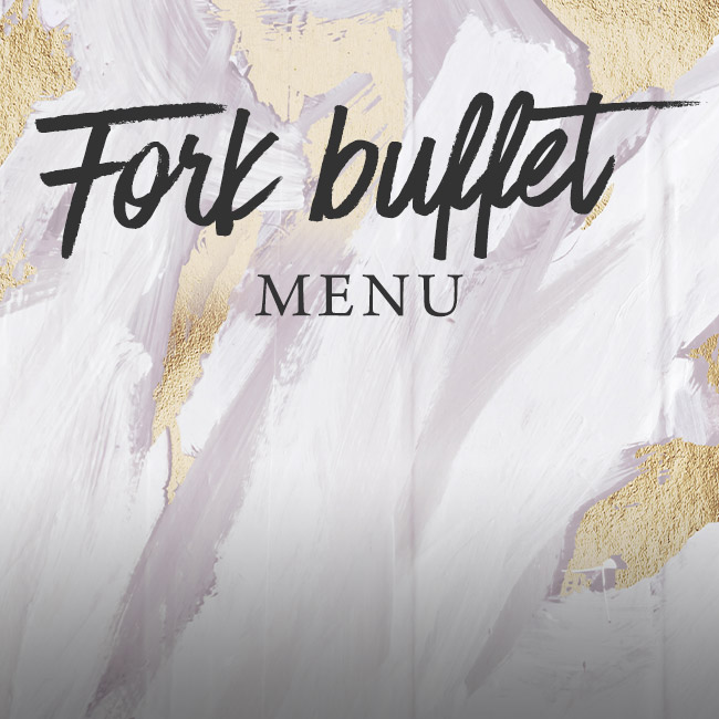 Fork buffet menu at The Anchor Inn