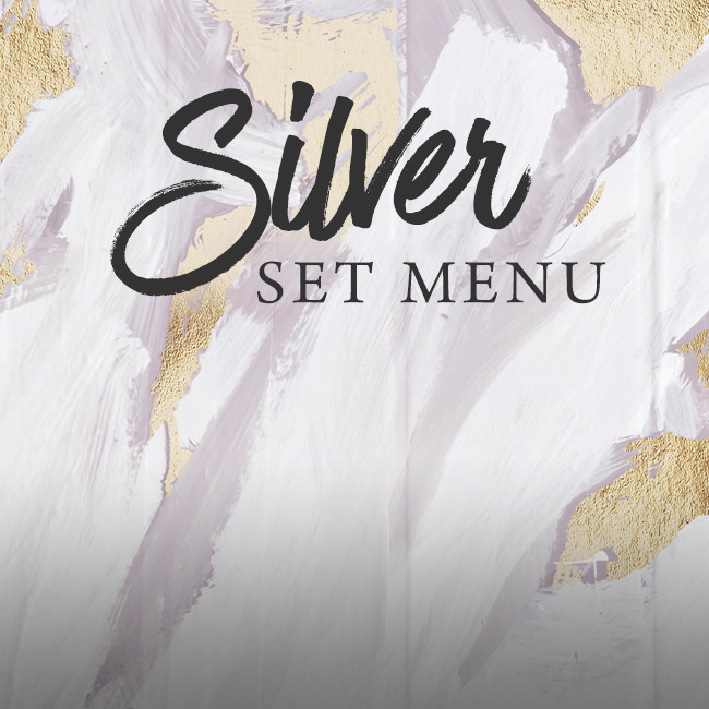 Silver set menu at The Anchor Inn